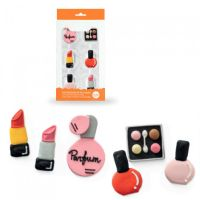 Make-up sukkerfigurer - 6 stk