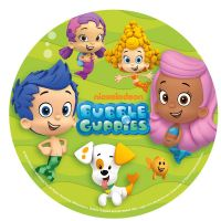 Kage print med bubble guppies