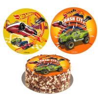 Hot Wheels kagebillede -  5 biler