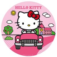 Sukkerprint med Hello Kitty