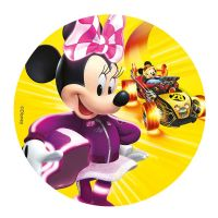 Kage print med Minnie Mouse - 16 cm