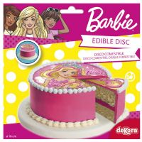 Barbie sukkerprint - 16 cm