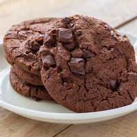 Double Choco chip cookies  mix - 500g - Funcake
