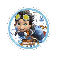 Rusty Rivets kageprint - Rusty