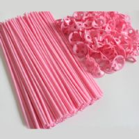 Ballon sticks - 1 stk - pink