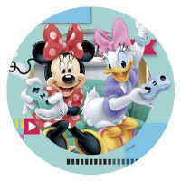 Disney kage print - Minnie og Andersine gamer