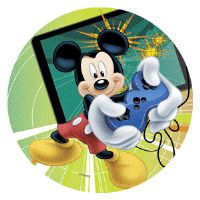 Disney kage print - Mickey gamer