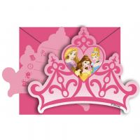 Disney prinsesse invitationer