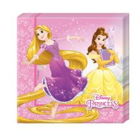 Disney Strong heart prinsesse servietter