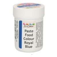 Funcolours - pastafarve - Funcake - Royal blue