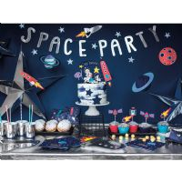 Space party sæt til 6 personer