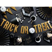 Halloween tallerkener Trick or Treat - 6 stk