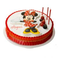 Minnie Mousse kage print