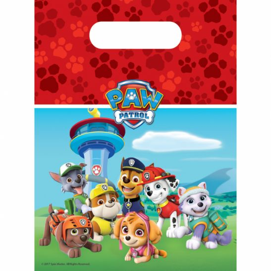 Paw patrol poser - Ready for action - 6 stk