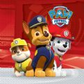 Paw patrol Servietter - 20 stk - ready for Action